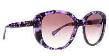 $580 AUTHENTIC DOLCE GABBANA D G WOMENS PURPLE MARBLE SUNGLASSES LENS SHADES