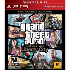 Grand Theft Auto: Episodes From Liberty City For PlayStation 3 PS3 Brand New 4E