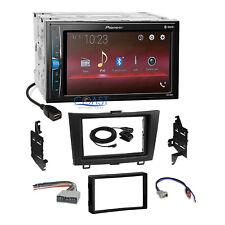 Pioneer 2018 USB Multimedia Stereo 2Din Dash Kit Harness for 2007-11 Honda CRV
