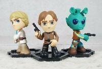Funko Star Wars Mystery Mini Lot - Han Solo, Greedo, Luke Skywalker Set