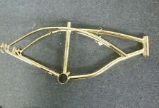 "NEW GOLD 20""BICYCLE FRAME LOWRIDERS"