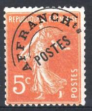 "FRANCE STAMP TIMBRE PREOBLITERE 50 "" SEMEUSE 5c ORANGE "" NEUF xx TB P087"