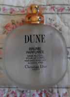 Vintage DUNE Christian DIOR Perfume Brume Parfumee Spray BOTTLE, Paris, EMPTY