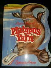 PLATYPUS YARN - DYNAMO PRESS Book, 1985 ORIGINAL