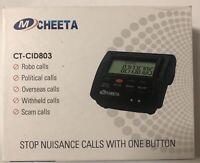 MCHEETA Call Blocker for Home Phone CT-CID803 Block Robo Solicitor Scam Calls