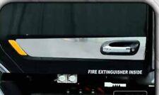 Peterbilt 579/567 door handle trim Stainless Steel