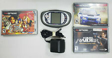 WORKING USED NOKIA N-GAGE QD CONSOLE WITH 3 GAMES TOMB RAIDER - KING OF FIGHTERS