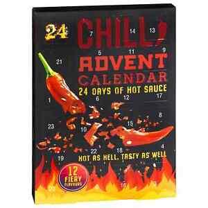 24 Days Of Hot Sauce Chilli Lovers Advent Calendar Christmas Gift G-21