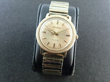 VINTAGE MENS 38.6MM BULOVA AUTOMATIC WRIST WATCH CAL.11ALAC - RUNNING