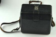VINTAGE RETRO RUSSIAN CAMERA CASE/BAG WITH SHOULDER STRAP AND ORIGINAL LENSES