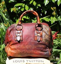 Louis Vuitton Richard Prince MANCRAZY Printemps Jokes Snakeskin LIMITED Bag FAB!