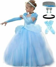 Romy's Collection Princess Blue Tulle Costume Party Dress-up Set