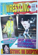 SUPERSTARS OF WRESTLING MAGAZINE ISSUE 23 /PRE POWER SLAM /1992/STEINERS POSTER