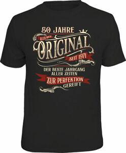 50 Jahre - Perfektion 1971 - T-Shirt / Shirt Größe wählbar S M L XL XXL