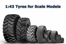 1/43 Car Tyre Tire Wheel Diecast Scale Model Rubber Wheels Pack Tires Tyres NEW