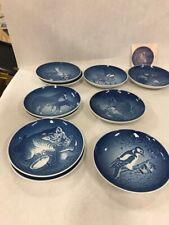 Vintage lot of 10 Mothers Day Bing Grondahl Denmark Plate Mors Dag Bg