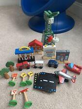 Thomas The Train Cranky The Crane Buildings Lot