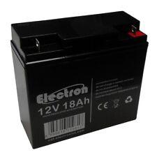 Batterie au plomb rechargeable 12V 18Ah pour ups alarmes fotovoltaïque nautique