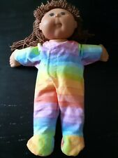 Homemade Cabbage Patch Doll Rainbow   Coverall Pyjamas