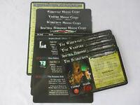 Time of Legends Joan of Arc Lot of 12 PLAGUE BEARERS Miniatures /& CARD New!!