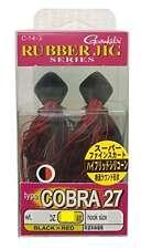 Gamakatsu Gamakatsu Raver jigs type Cobra 27 14 g Black & Red 3/0 JAPAN