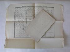 Karte des Sudetenlandes 75.000 Übersichtsblatt in Bezug zur Karte DR u Ö, 1938