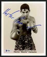 """Hector """"Macho"""" Camacho Authentic Autographed Signed 8x10 Photo Beckett V62495"""