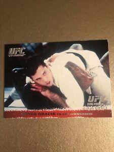 Royce Gracie ROOKIE CARD 2009 UFC ROUND 1 RC Topps HOF  Jiu-Jitsu GOAT gsp silva