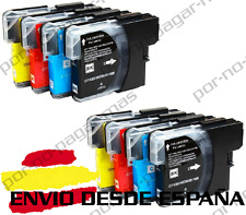 8 CARTUCHOS COMPATIBLES NonOem BROTHER LC980 LC1100 MFC-5890CN MFC5890CN