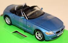 Nex 1/24 Scale - BMW Z4 Roadster Metallic blue E85 Diecast model car