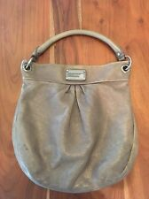 Marc By Marc Jacobs Metallic Taupe Hillier Bag Purse Leather