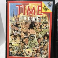 1983 Time Magazine The Game Trivia Board Game COMPLETE Vintage