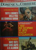 DOMENICA DEL CORRIERE N.43  1972
