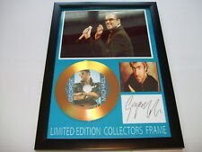 GEORGE MICHAEL    SIGNED GOLD CD   DISC   NEW 2