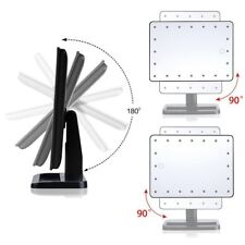Touch Screen 22 LED Lighted Vanity Mirror with 10x spot mirror
