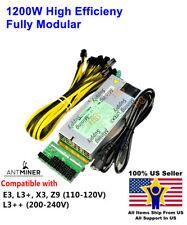 Power Supply for bitmain antminer E3 / L3+ / X3 / Z9 / L3++  110V-240V PSU