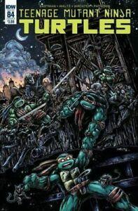 TMNT Teenage Mutant Ninja Turtles Ongoing #84 IDW Cover B 1ST PRINT  Eastman