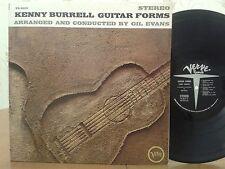 Kenny Burrell,Guitar Forms,Verve V6 8612,STEREO,1965,VG+, Rare Vinyl Jazz LP