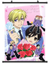 4819 Ouran High School Host Club Decor Poster Wall Scroll cosplay