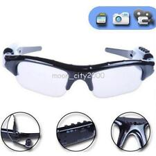 Polarized Sunglass Spy Camera TF Card Sport Camcorder Glasses Headset Eyeglass