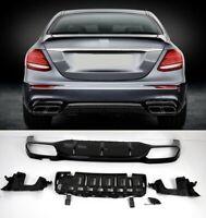 Für Mercedes-Benz E-Klasse W213 E63s AMG Night Edition Look Diffusor Diffuser #1