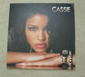 RARE Cassie Record Store 24x24 Foam Album Promo Poster