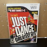 Just Dance: Greatest Hits (Nintendo Wii, 2012) Complete & Tested