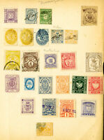 Italy Stamps 25x Rare Proofs & Revenues on page