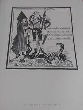 1945 PROF ZDENEK KRATOCHVIL XXL DRAWNINGS - ST GEORGE, CRISIS TEXTILIENSIS