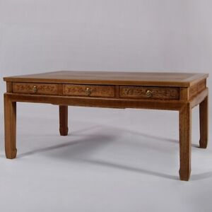 Ming Dy STL Solid Wood Chicken Wing Wood Tea table Coffee Table 明代風格雞翅木茶几#1095