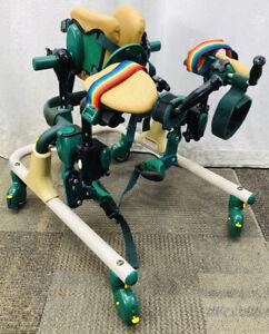 Rifton Pacer K517 Gait Trainer Small Walker Pediatric Mini Plus Accessories