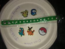 Pokémon Lot Of 5 + Adult Bracelet, Croc, Lace Adapter Charms, Jibbitz