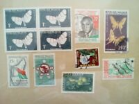 lot N°17 - 11 timbres REPUBLIQUE MALGACHE