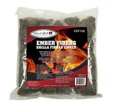 GEF100 Glowing Ember Fiber Kit 4 oz Embers Gas Log Wood Heat Fireplace Set